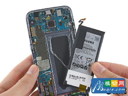 拆解三星 s7手机:爱模切爱拆机